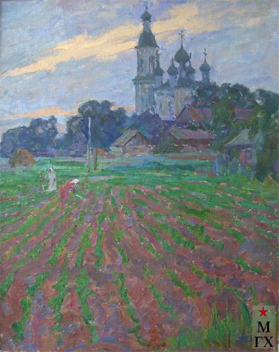 Т.М. Марченко. На окраине села.