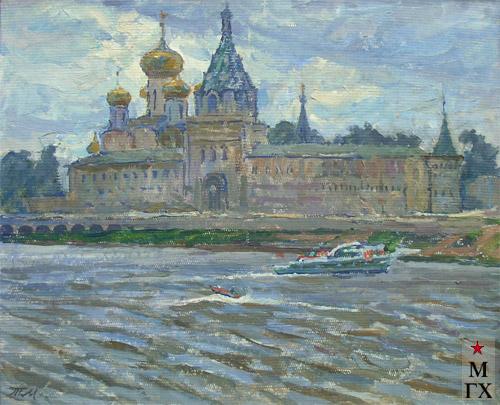 Т.М. Марченко. Храм на набережной.