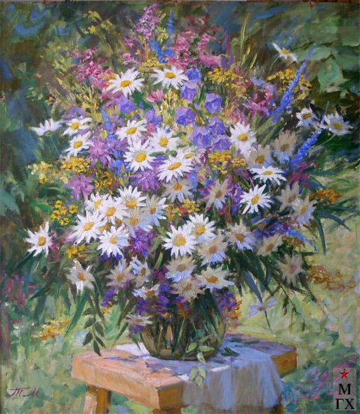 Т.М. Марченко. Полевые цветы.