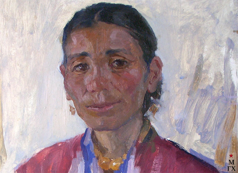 Т.М. Марченко. Киргизка (фрагмент).