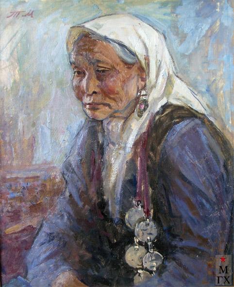 Т.М. Марченко. Старая киргизка.