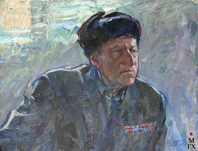 Т.М. Марченко. Ветеран Гражданской войны.