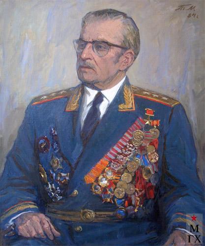 Т.М. Марченко. Генерал-полковник артиллерии, Герой Советского Союза, Фомин.
