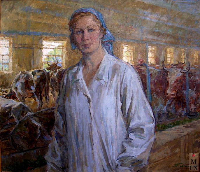 Т.М. Марченко. На ферме.