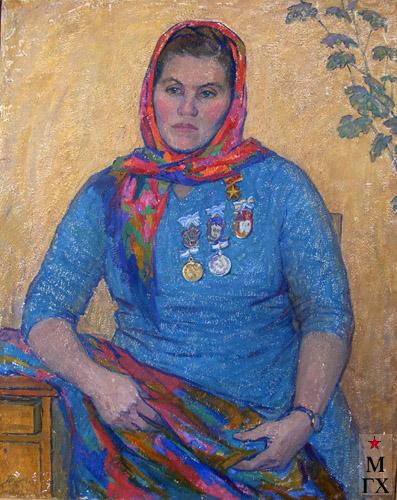 Т.М. Марченко. Мать-героиня Савченко (11 детей).