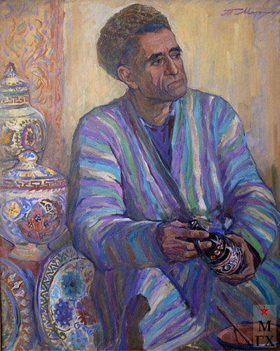 Т.М. Марченко. Узбекский керамист.