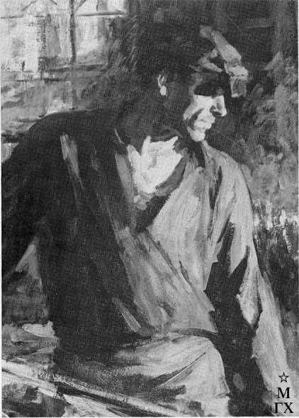 Т.М. Марченко. Герой Соц. труда В. Клюев. 1960. К.М. 70х50.