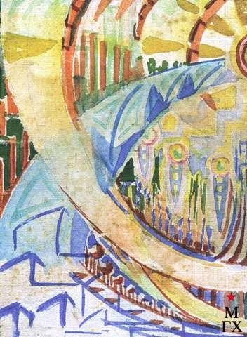 Мигаев В. Ф. Фантазия 2. 1931-33. 8.5х11