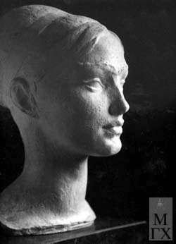 Л.Д. Муравин. Женский портрет.