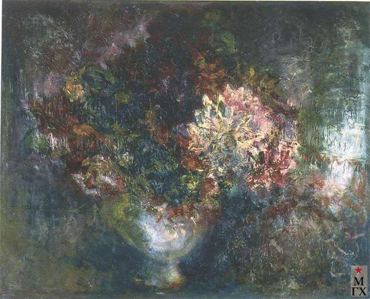 Назаревская Г. А. Осенний букет.1925. Х.М. 53х71