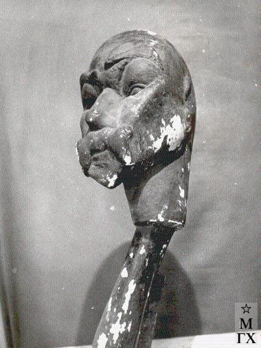 Н.И. Нисс-Гольдман. Портрет В.Я. Брюсова. 1924.
