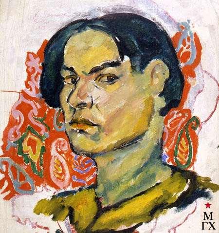 А.Нюренберг. Портрет мужчины. Берлин. 1927. Х.М. 40х30.
