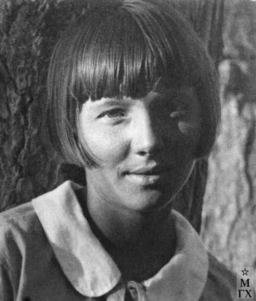 Вера Орехова. 1920-е.