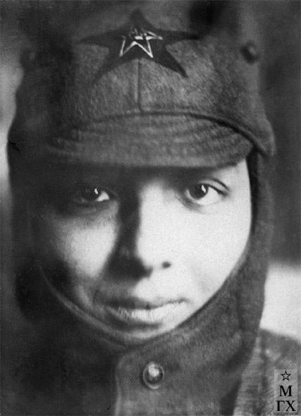Вера Орехова. 1930-е.