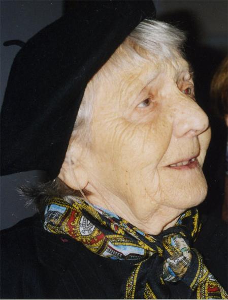 Вера Андреевна Орехова. 2007.
