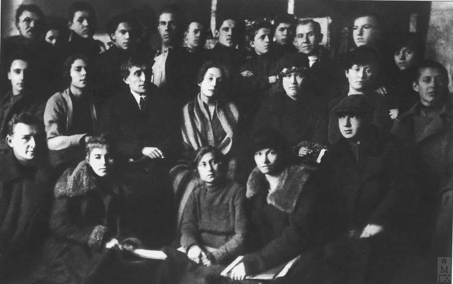 А. А. Осмеркин и его ученики - участники выставок: