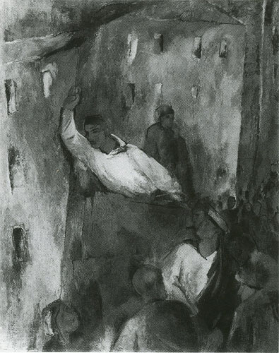 Пакулин В. В. Террор. 1929. Х.М. 126.5х91. ГРМ.