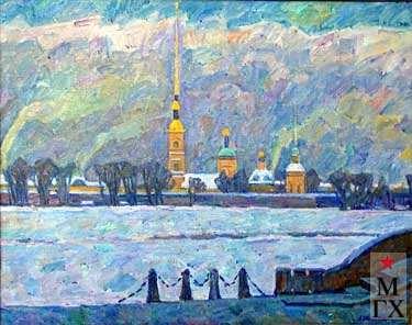 А.С.Папикян. Петропавловская крепость