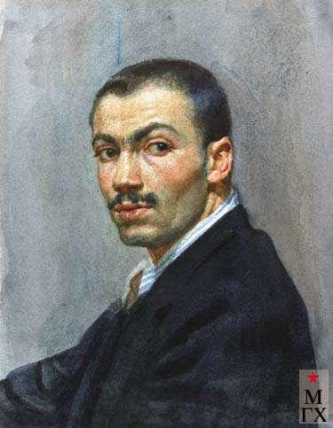 А.С.Папикян. Автопортрет
