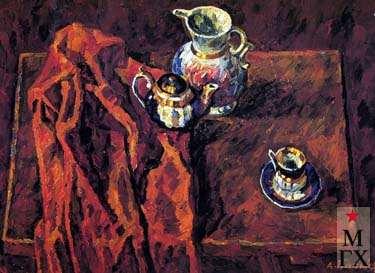 А.С.Папикян. Чайный натюрморт