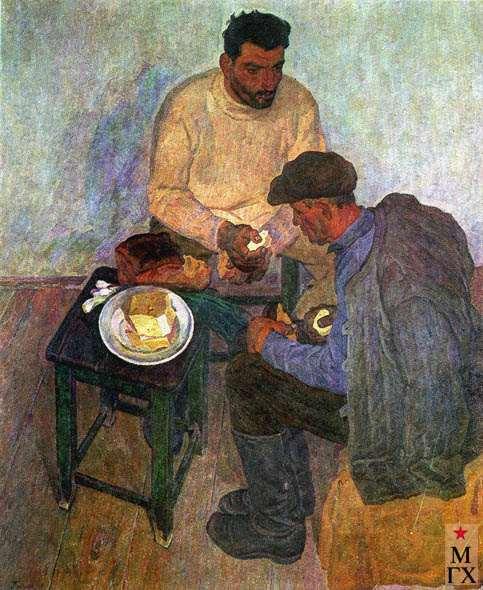 А.С.Папикян. Хлеб с сыром