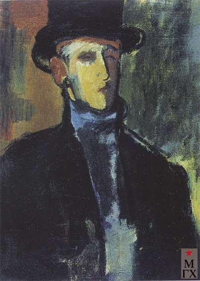 Павловский С. А. Автопортрет. 1929-1930. Х.М. 56х42.
