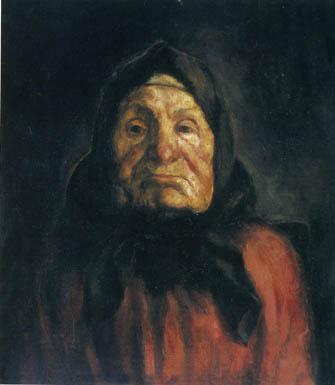 Перуцкий М. С. Крестьянка. 1925-1926. Х.М. 62х54. ГТГ
