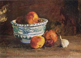 В.В. Почиталов. Натюрморт с вазой. 1951.
