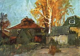 В.В. Почиталов. Никулино. Осень. 1958.