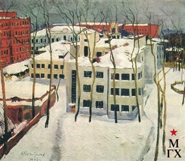 В.В. Почиталов. Зима. 1946.