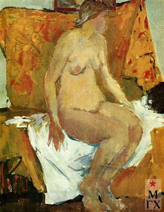 В.В. Почиталов. Натурщица. 1972.