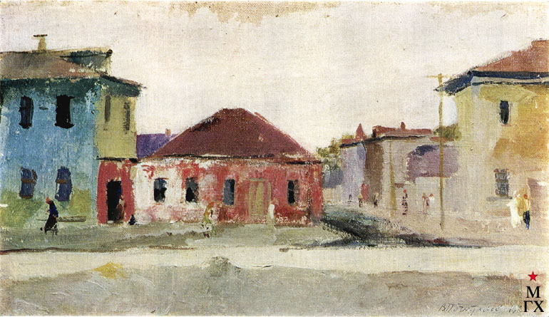 В.В. Почиталов. Старая Москва. 1933. Х.М. 20.8Х35.8