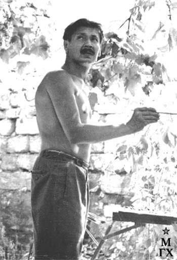Радоман И. В. На этюдах в Одессе. 1962.
