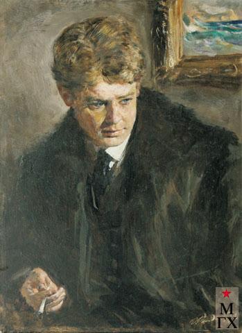 Радоман И. В. Сергей Есенин. 1972-е. Х.М. 60х40.