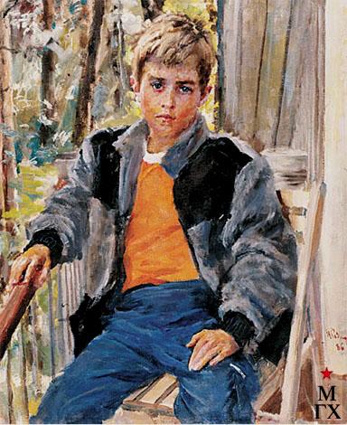 Радоман И. В. Дениска. 1986. Х.М. 80х65.
