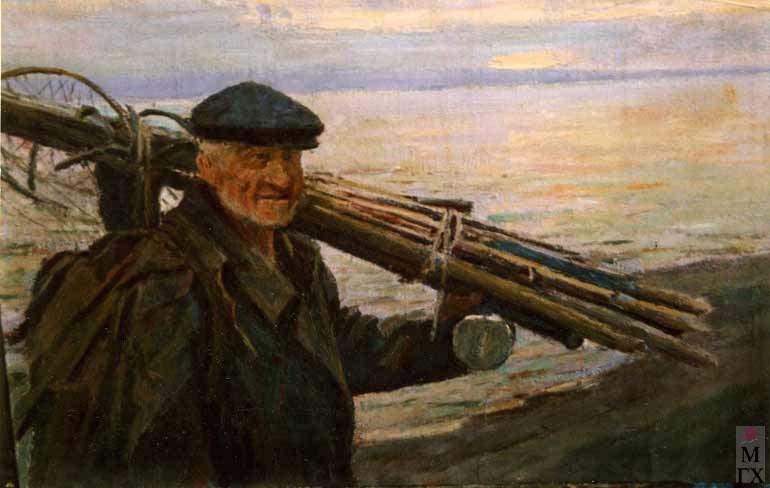 И.П.Рубинский. Рыбак