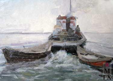 И.П.Рубинский. Буксир