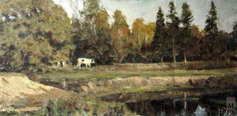 И.П.Рубинский. На водопой