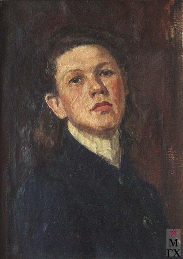 И.П.Рубинский. Портрет жены