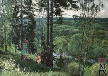 И.П.Рубинский. Лето