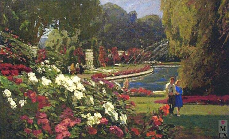 И.П.Рубинский. Ботанический сад