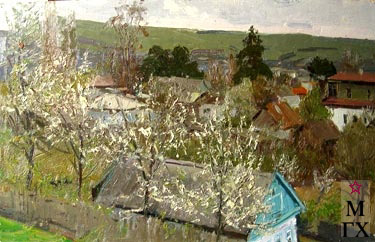 И.П.Рубинский. Этюд
