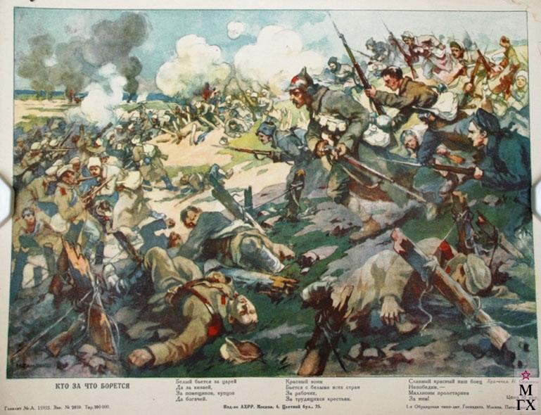 Борется гражданская война в россии