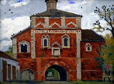 В. Ф. Стожаров. Суздаль. Благовещенская церковь. (XVI - XVII вв.). 1970. К.М.