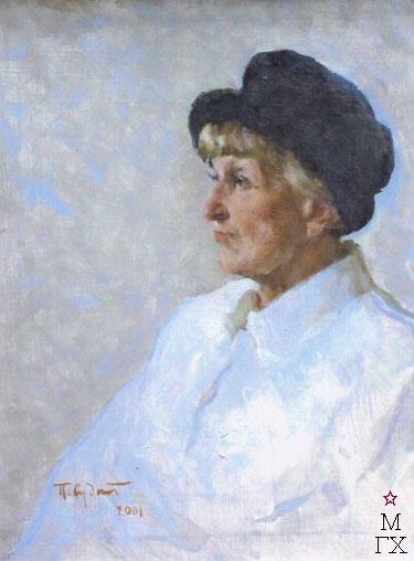 П.Ф. Судаков. Женский портрет. 2001