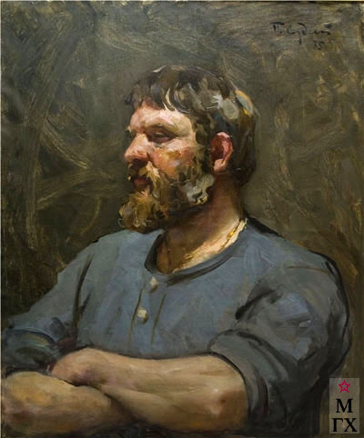 П.Ф. Судаков. Портрет поэта Алексея Маркова. 1975. Х.М. 64x80