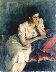 Д.К. Тегин. Портрет жены