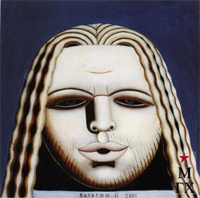 Н.Е. Ватагин. Андрей Лукинов. 2001. Х.М. 70х70.