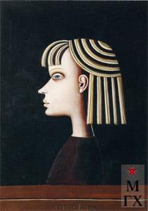 Н.Е. Ватагин. Таня. 1998. Х.М. 70х50.