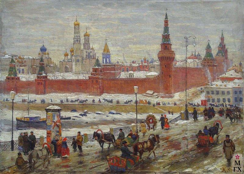 К. Ф. Юон, Старая Москва. Холст, масло